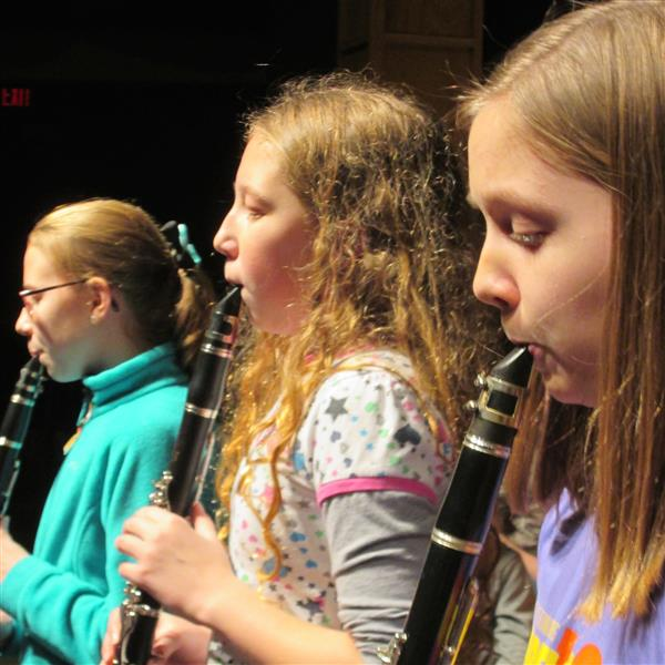 RCI clarinet players