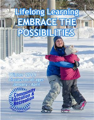 Community Ed Winter 2019 Guide Cover