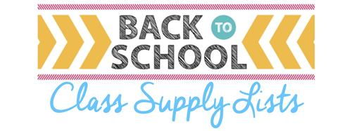 OHS - School Supply List for Students