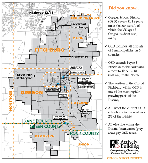 Learn About Oregon District Boundaries & Tax Base on